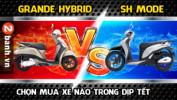 So sánh Yamaha Grande 2019 và SH Mode 2019 nên mua xe nào?