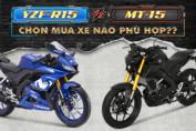 So sánh Yamaha MT-15 2019 và R15 2019: nên chọn mẫu xe môtô nào?