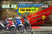 Giá xe Honda Beat 2019 mới nhất hôm nay tại các đai lý Việt Nam