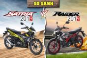 So sánh Suzuki Satria 2019 nhập với Raider 2019: Nên mua xe nào?