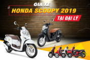 Giá xe Honda Scoopy 2019 mới nhất hôm nay tại các đại lý
