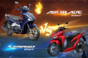 So sánh Air Blade 150 và Vario 150 nhập khẩu: Nên mua xe nào?