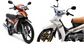 So sánh Honda Blade 110 vs Yamaha Sirius