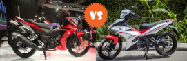 So sánh Honda Winner 150 vs Exciter 150