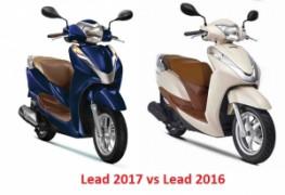 So sánh Honda Lead 2020 với Lead 125 phiên bản cũ