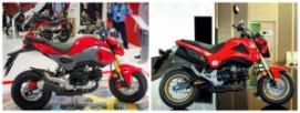 So sánh Honda MSX 2018 và MSX 2016 cũ
