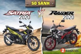 So sánh Suzuki Satria 2020 nhập với Raider 2020: Nên mua xe nào?