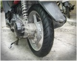 Cảm nhận Airblade dùng lốp Maxio