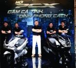Honda PCX 2014 vừa ra mắt đã có đối thủ cạnh tranh?