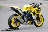 Honda CBR 150 vàng chanh nổi bật
