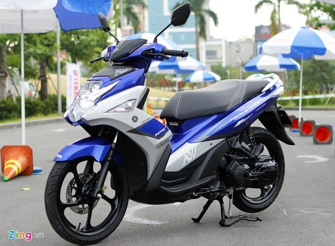 So sánh nouvo fi 2015 vs suzuki impulse - 1