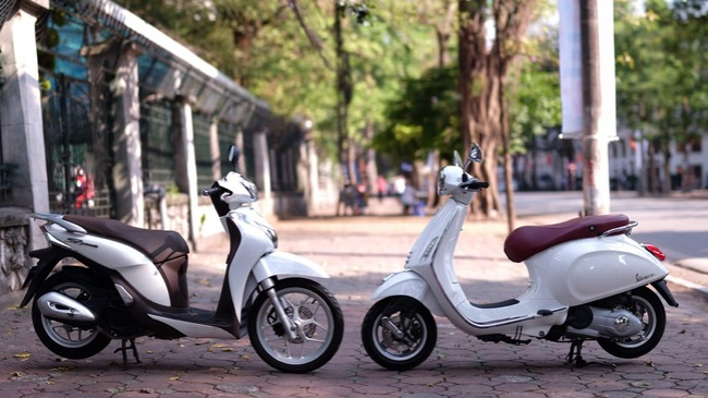 So sánh vespa primavera vs sh mode - 1