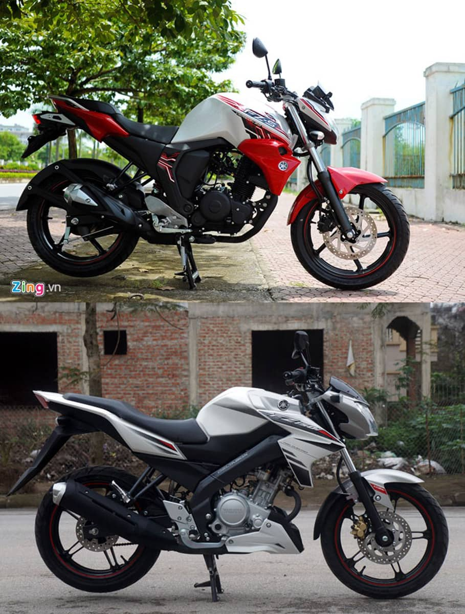 So sánh fz150i vs yamaha fz-s - 2