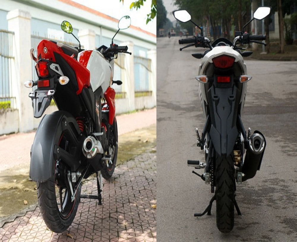 So sánh fz150i vs yamaha fz-s - 4