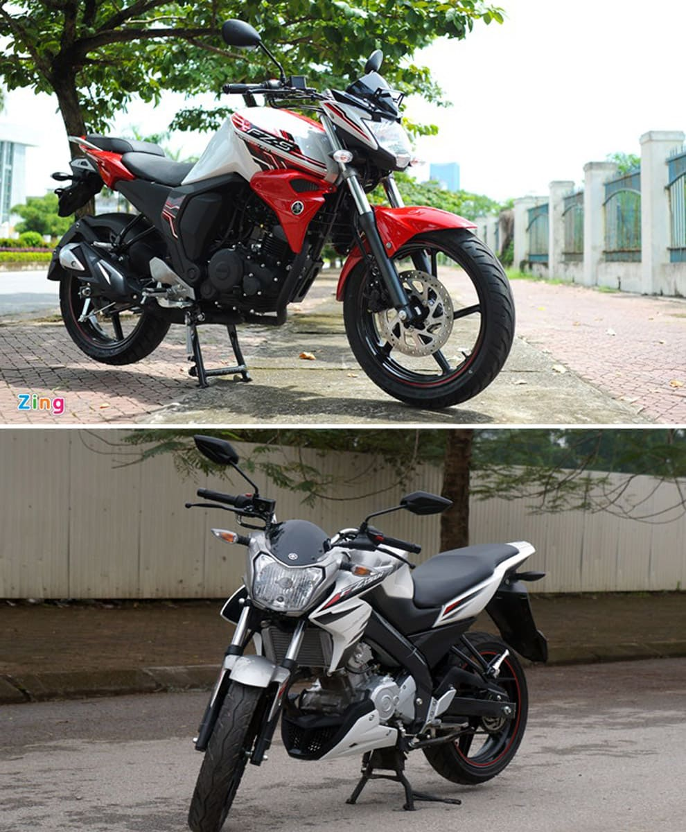 So sánh fz150i vs yamaha fz-s - 1