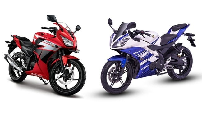 So sánh honda cbr150r vs yamaha r15 - 1