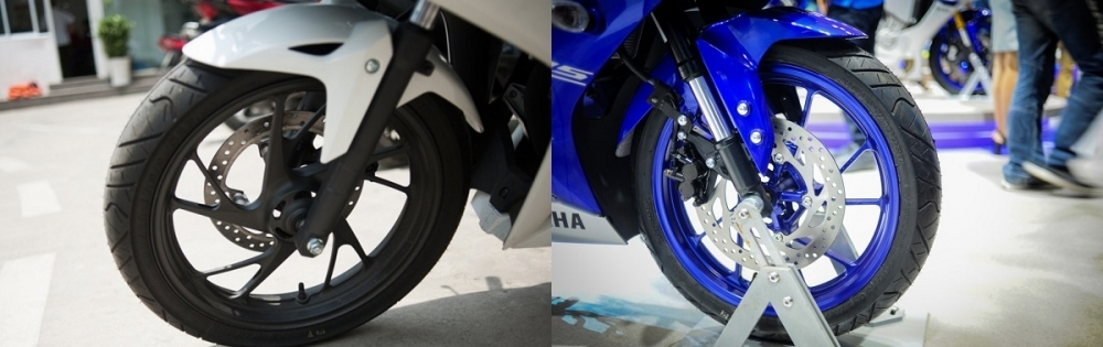 So sánh yamaha r15 2018 vs honda cbr 150 2018 - 9
