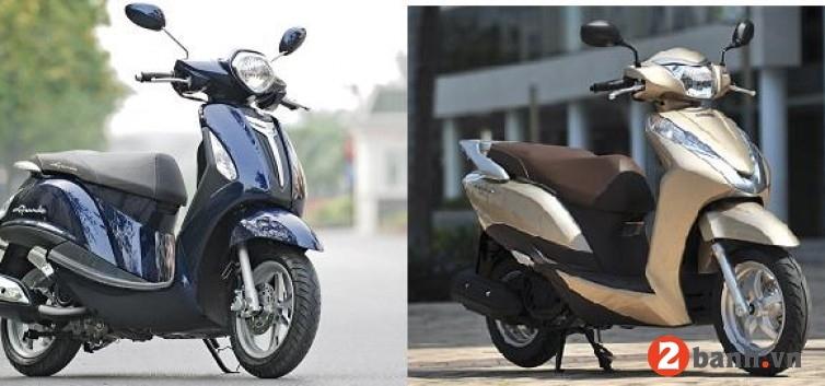 So sánh yamaha grande với honda lead nên mua xe tay ga nào - 1