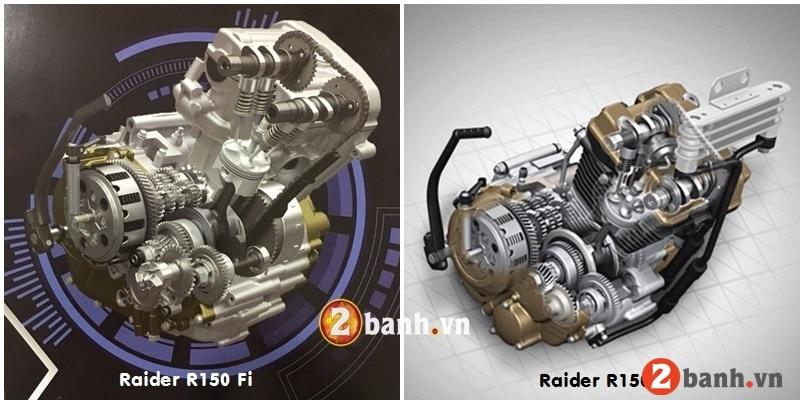 So sánh raider fi 2018 với suzuki raider 150 phiên bản 2016 - 9