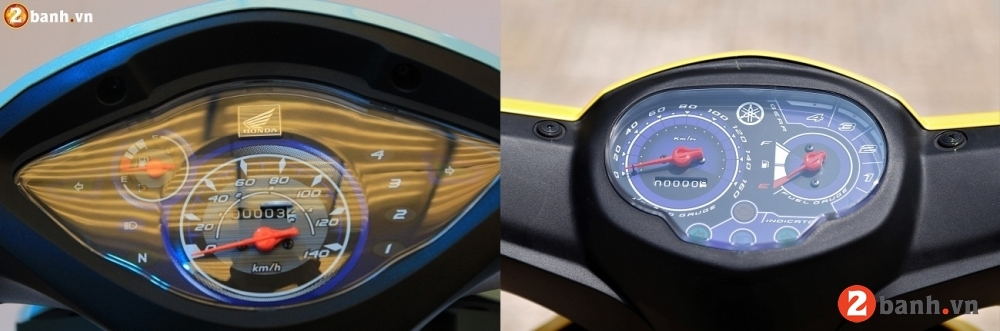 So sánh honda wave alpha 2018 vs yamaha sirius 2018 - 5