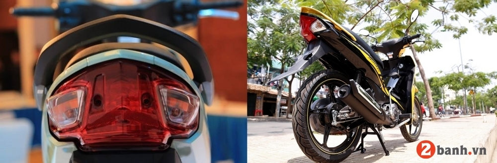 So sánh honda wave alpha 2018 vs yamaha sirius 2018 - 6