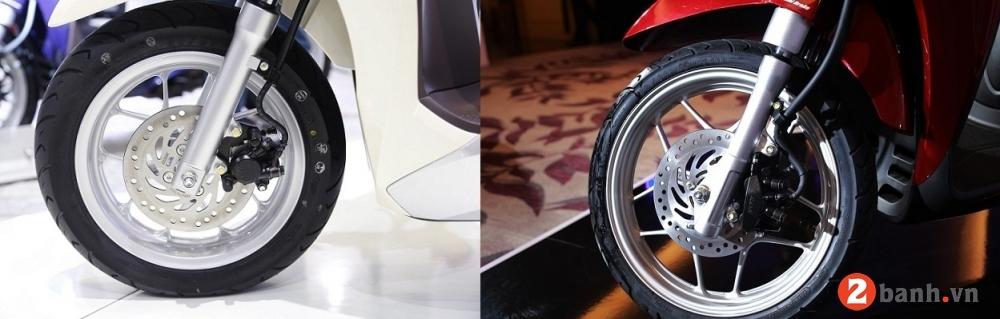 So sánh sh mode 2017 và lead 2017 nên mua xe tay ga nào - 7