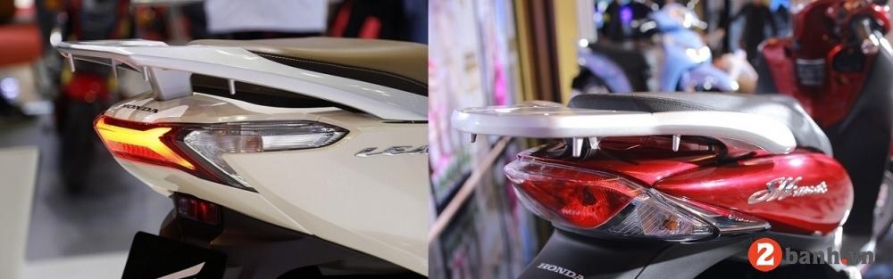 So sánh sh mode 2017 và lead 2017 nên mua xe tay ga nào - 6