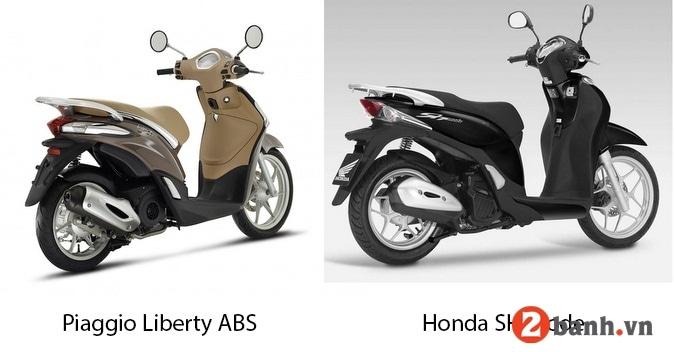 So sánh liberty abs vs sh mode nên chọn xe tay ga nào tốt nhất - 5
