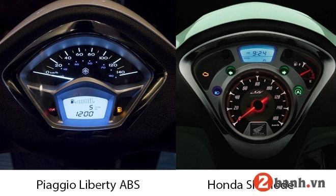 So sánh liberty abs vs sh mode nên chọn xe tay ga nào tốt nhất - 3