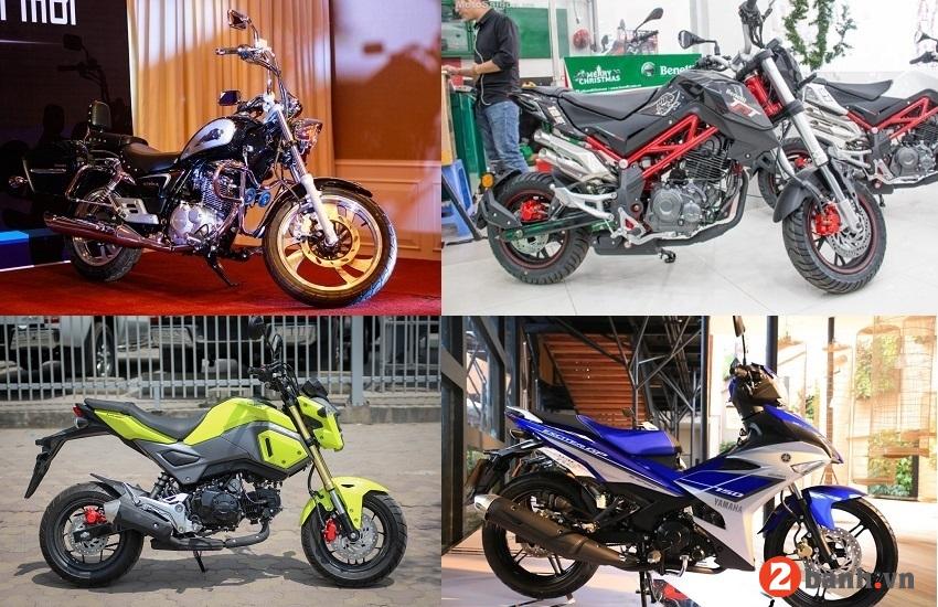 Những mẫu mô tô giá rẻ dưới 50 triệu nên mua năm 2018 - 1