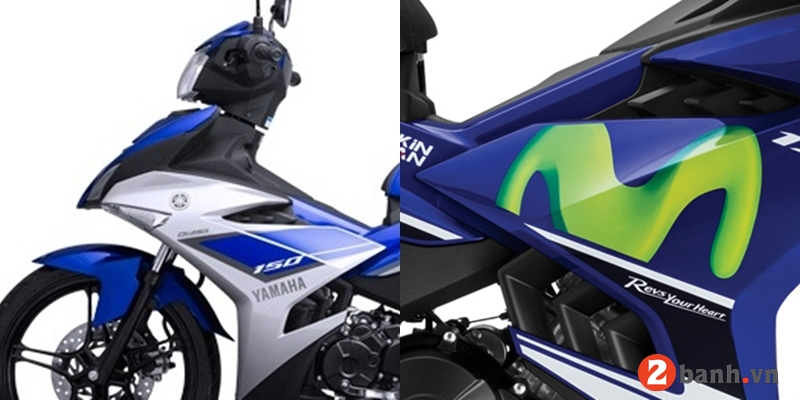 So sánh exciter 150 movistar 2016 vs exciter gp 2015 - 2