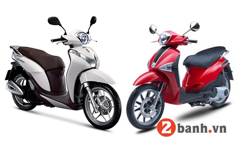 So sánh sh mode vs piaggio liberty 2014 - 1