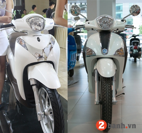 So sánh sh mode vs piaggio liberty 2014 - 4