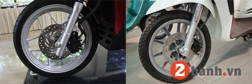 So sánh sh mode vs piaggio liberty 2014 - 6