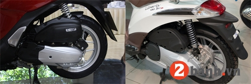 So sánh sh mode vs piaggio liberty 2014 - 11