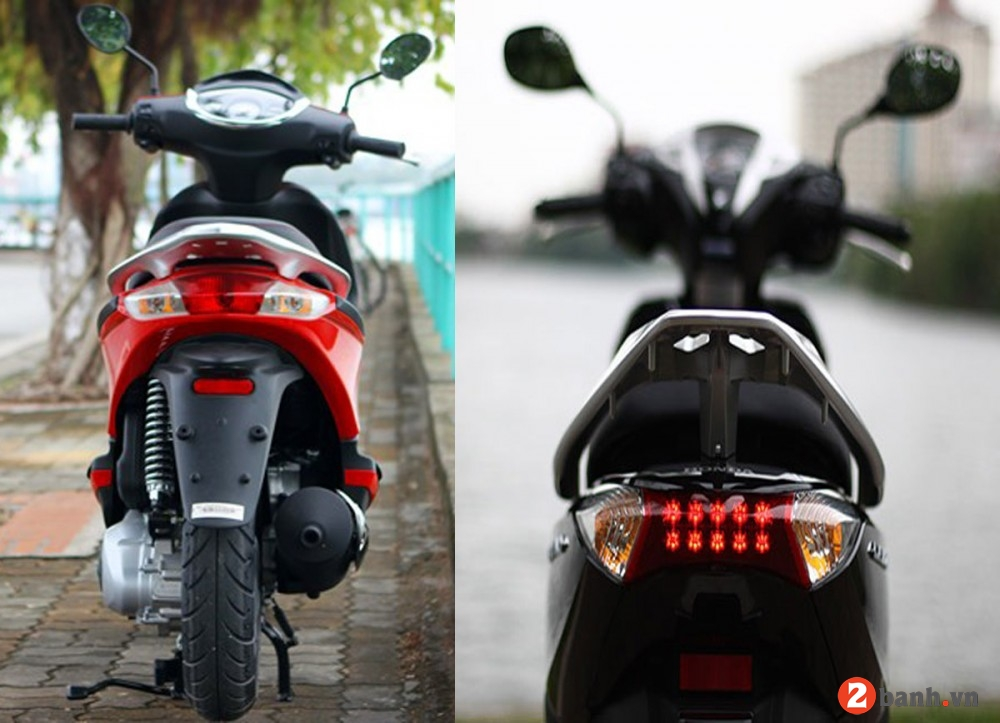 So sánh honda lead 125 vs piaggio fly 3v 2015 - 3