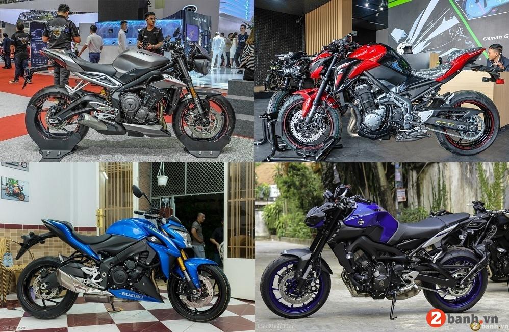 Top 7 nakedbike mới nhất hiện nay 2020 dành cho biker - 1