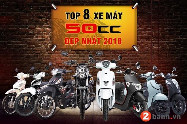 Top 8 xe máy 50cc đẹp đáng mua nhất hiện nay 2018 - 1
