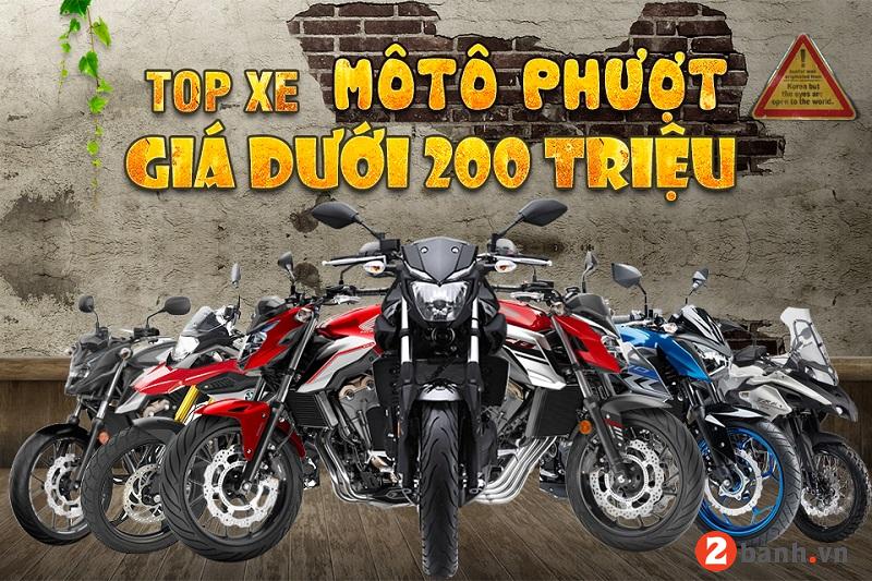 Những mẫu xe mô tô phượt giá dưới 200 triệu nào đáng mua nhất hiện nay - 1