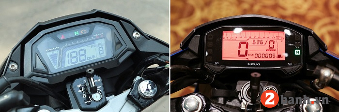 So sánh suzuki raider 150 vs honda sonic 150 - 5