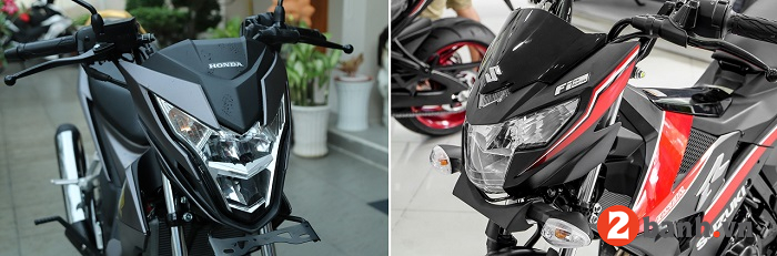 So sánh suzuki raider 150 vs honda sonic 150 - 4
