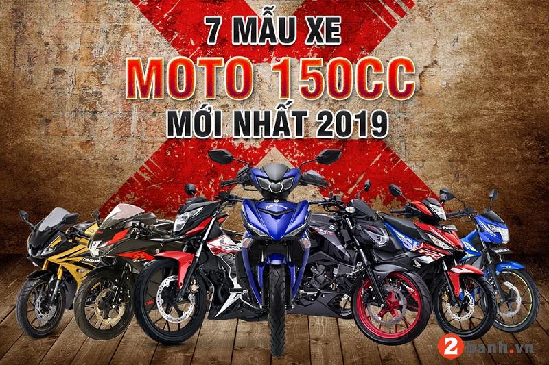 7 mẫu xe moto 150cc mới nhất 2019 tại thị trường việt nam - 1