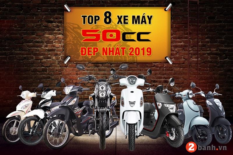 Top 8 xe máy 50cc đẹp đáng mua nhất hiện nay 2019 - 1