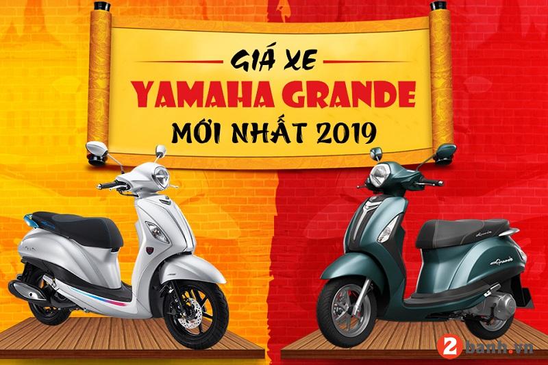 Giá xe grande 2019 mới nhất hôm nay tháng 22019 tại đại lý yamaha - 1