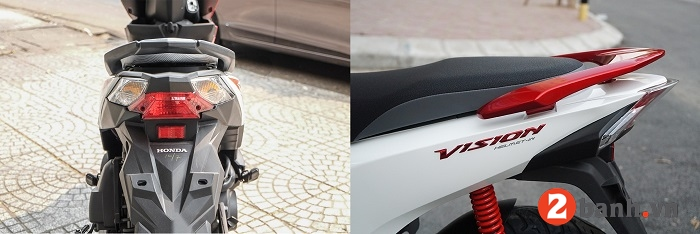 So sánh honda beat 2019 và vision 2019 nên mua mẫu xe tay ga nào - 13