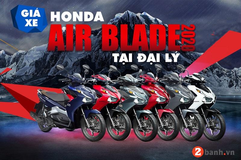 Giá xe air blade 2020 mới nhất hôm nay tháng 42020 tại đại lý  - 1