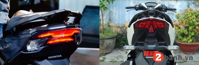 So sánh air blade 150 và vario 150 nhập khẩu nên mua xe nào - 16