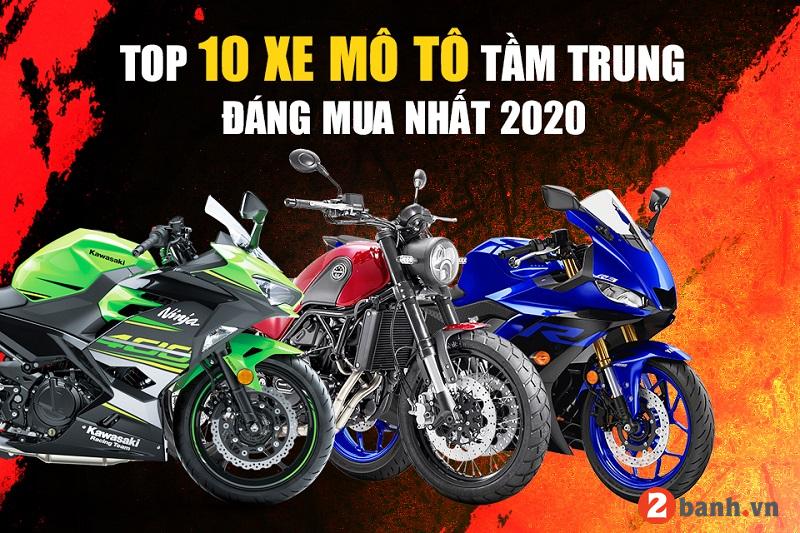 Top 10 mẫu xe mô tô tầm trung giá rẻ đáng mua nhất hiện nay - 1