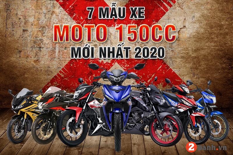 7 mẫu xe moto 150cc mới nhất 2020 tại thị trường việt nam - 1