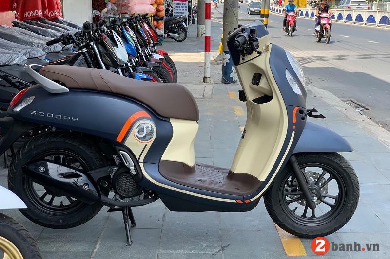 Giá xe honda scoopy 2021 mới nhất hôm nay tháng 8 tại đại lý việt nam - 1